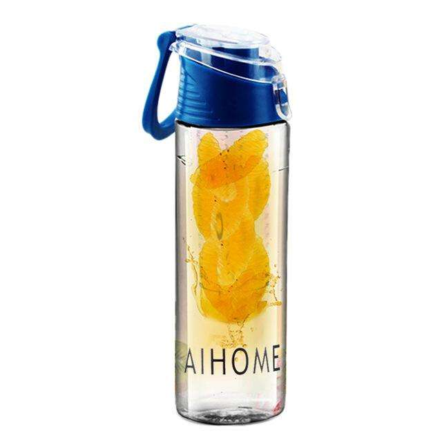 Water bottle with fruit infuser 800ml. - Ultimate Yoga Bliss, Yoga Leggings, Yoga Pants, Yoga Tops