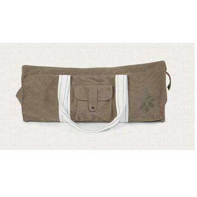 Ultimate Yoga Bliss:Waterproof Canvas Yoga Bag,Dark Khaki,Yoga Leggings, Yoga Capri, Yoga Clothing, Yoga accessories