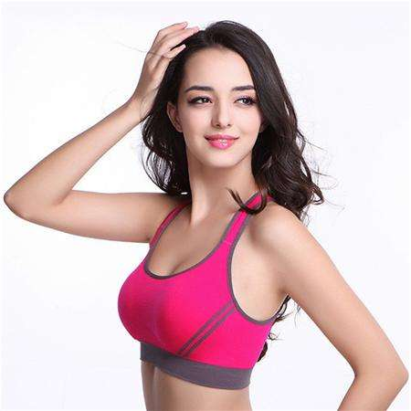 Ultimate Yoga Bliss:Women Padded Tank Top Bra or Sports Bra.,Pink / L,Yoga Leggings, Yoga Capri, Yoga Clothing, Yoga accessories