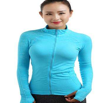 Women's Long Sleeved Sports Jacket Quick drying yoga top. - Ultimate Yoga Bliss, Yoga Leggings, Yoga Pants, Yoga Tops
