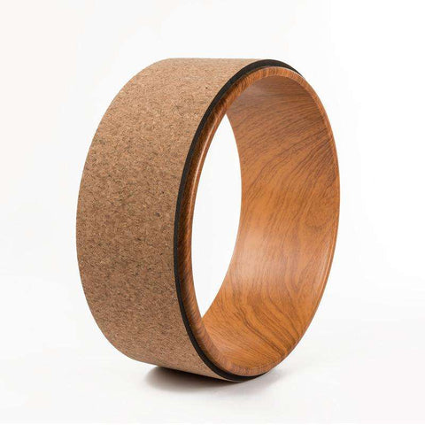 Ultimate Yoga Bliss:Wood Color Yoga Wheel,[variant_title],Yoga Leggings, Yoga Capri, Yoga Clothing, Yoga accessories