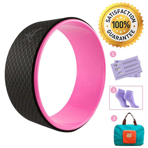 Ultimate Yoga Bliss:Yoga Wheel Set,[variant_title],Yoga Leggings, Yoga Capri, Yoga Clothing, Yoga accessories