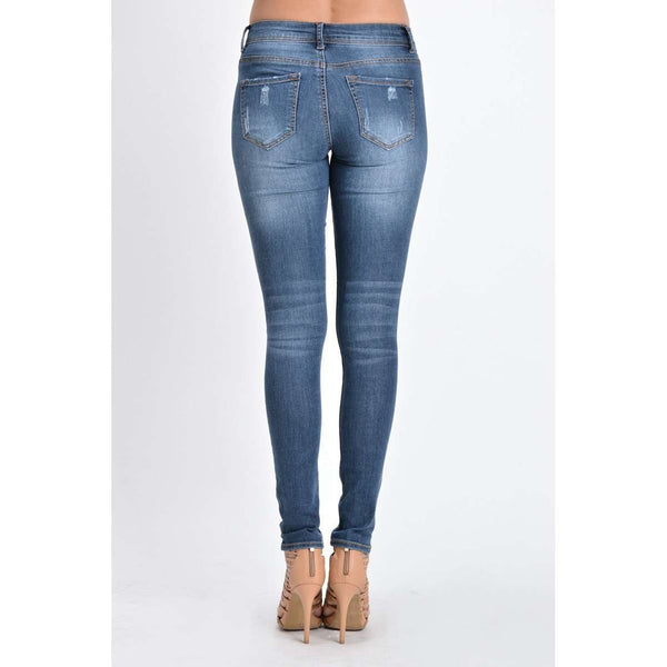 Michelle Skinny Distressed