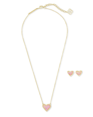 Kendra Scott Ari Opal Heart Gift Set