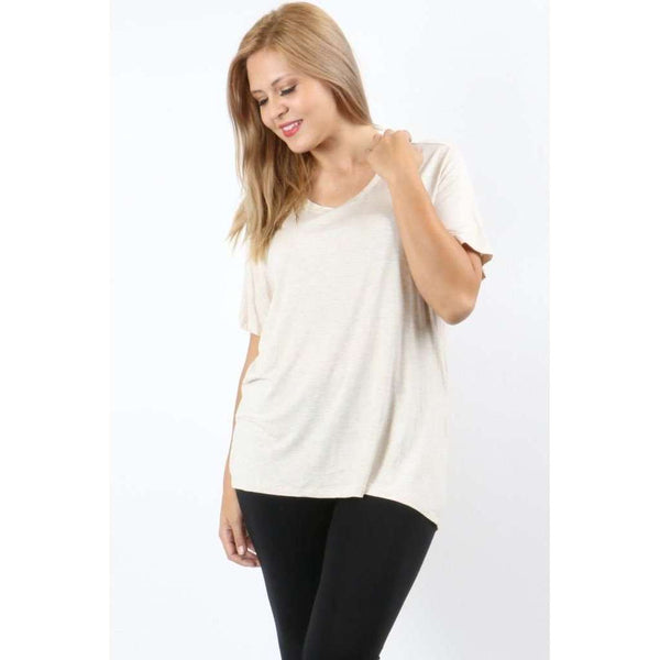 Fynn Short Sleeve Scoop Neck