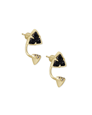 Kendra Scott Perry Drusy Ear Jacket Earrings