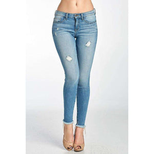 Rosa Lee Medium Light Wash Denim Jeans
