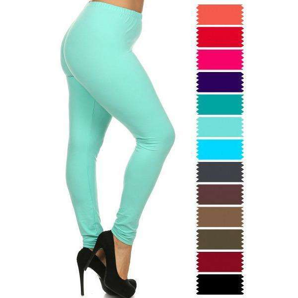 Lucie Soft Full Length Lush Leggings