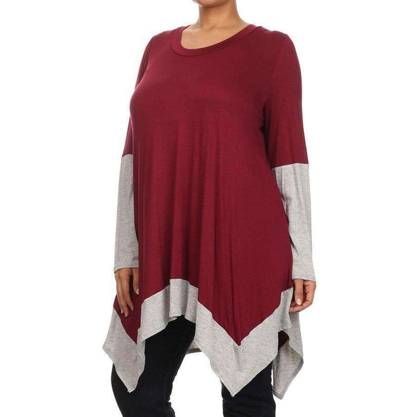 Susan Shark Bite Tunic