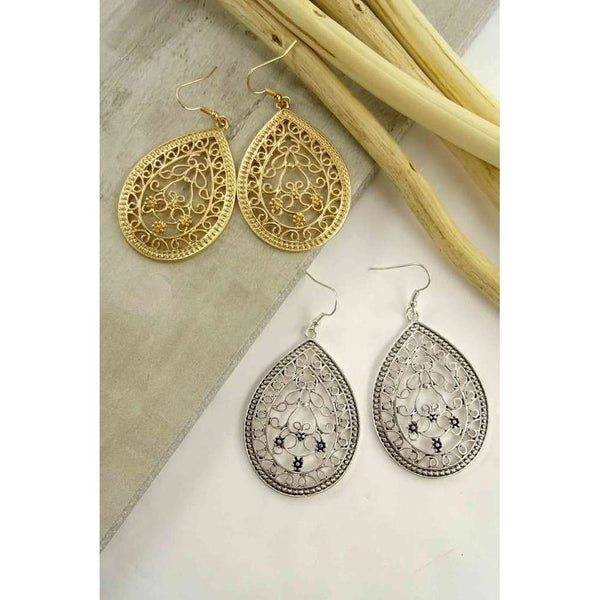 Juliet Floral Filigree Earring