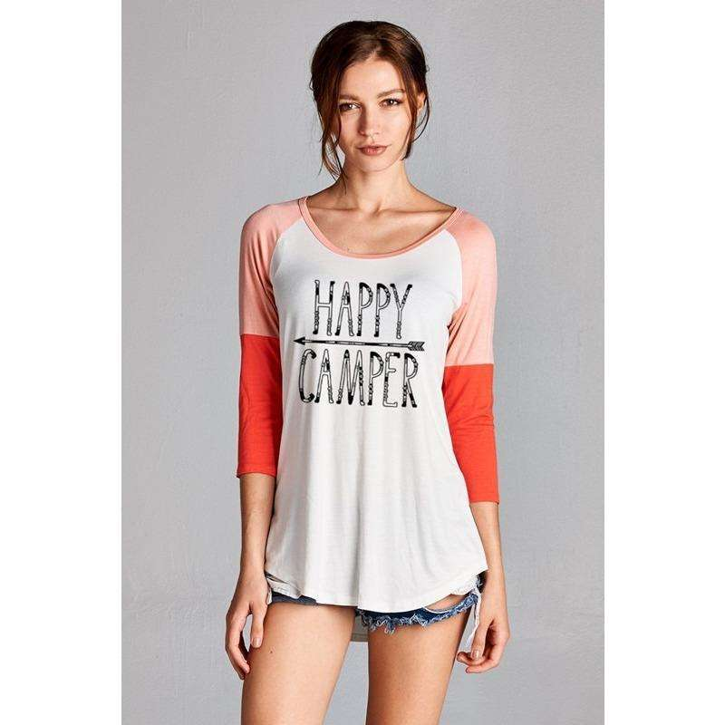 Happy Camper Soft Touch Tee