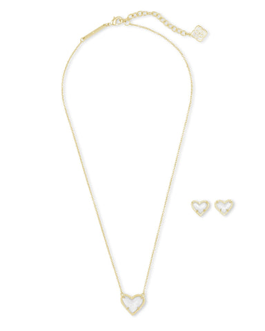 Kendra Scott Ari Heart Gift Set