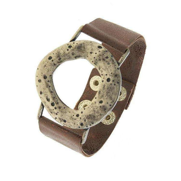Sami Antique Textured Cutout Bracelet