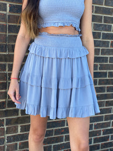 Caroline Ruffled Skirt