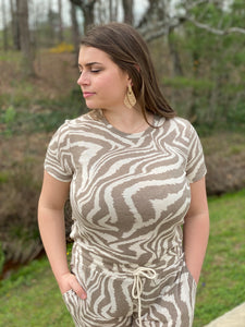 Lolly Zebra Super Soft Tee