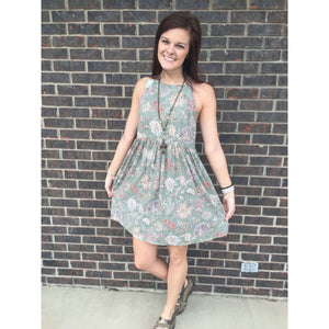 Mali Sage Whimsical Dress