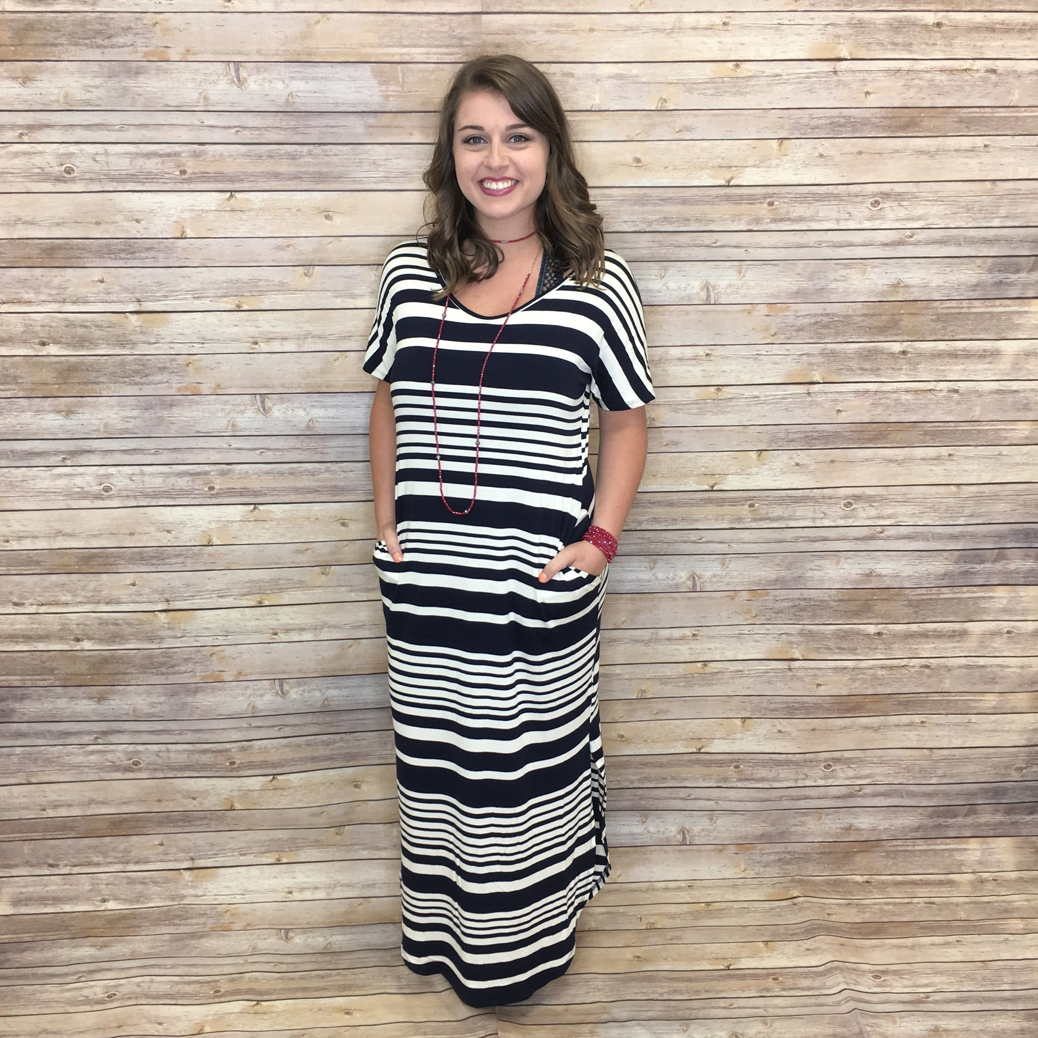 Sammi Striped Maxi Dress