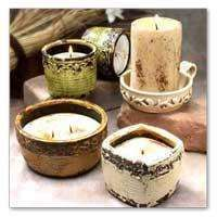 Swan Creek Small Circle/Square Candles