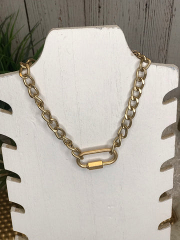 Gale Gold Chain Choker