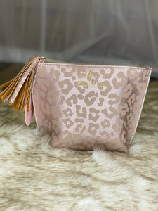 Holy Chic Leopard Makeup Bag