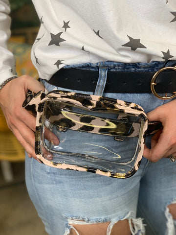 Lilah Clear Fanny Pack/Crossbody