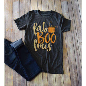 Fa-boo-lous And Boo-tiful  Halloween Tees