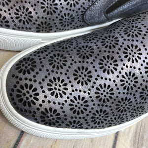 Darlene Laser Cut Out Sneaker