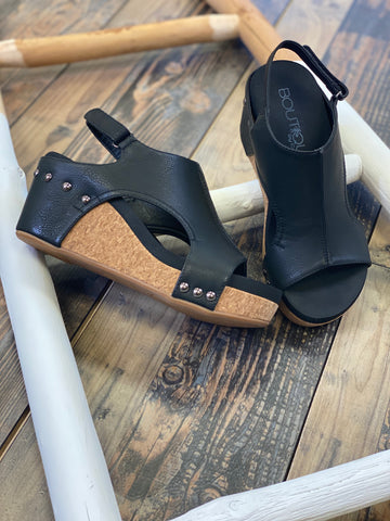 Carley Wedge Sandals (multiple colors)