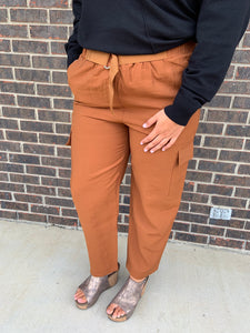 Theresea Terracotta Lush Pants