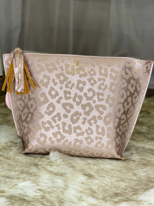 Camilla Leopard Couture Makeup Bag