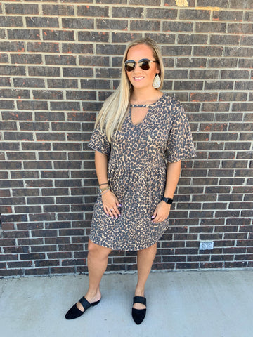 Kaycee Leopard Dress