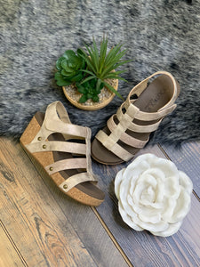 Lottie Da Strappy Wedge