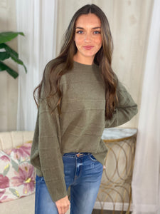 Jules Olive Sweater