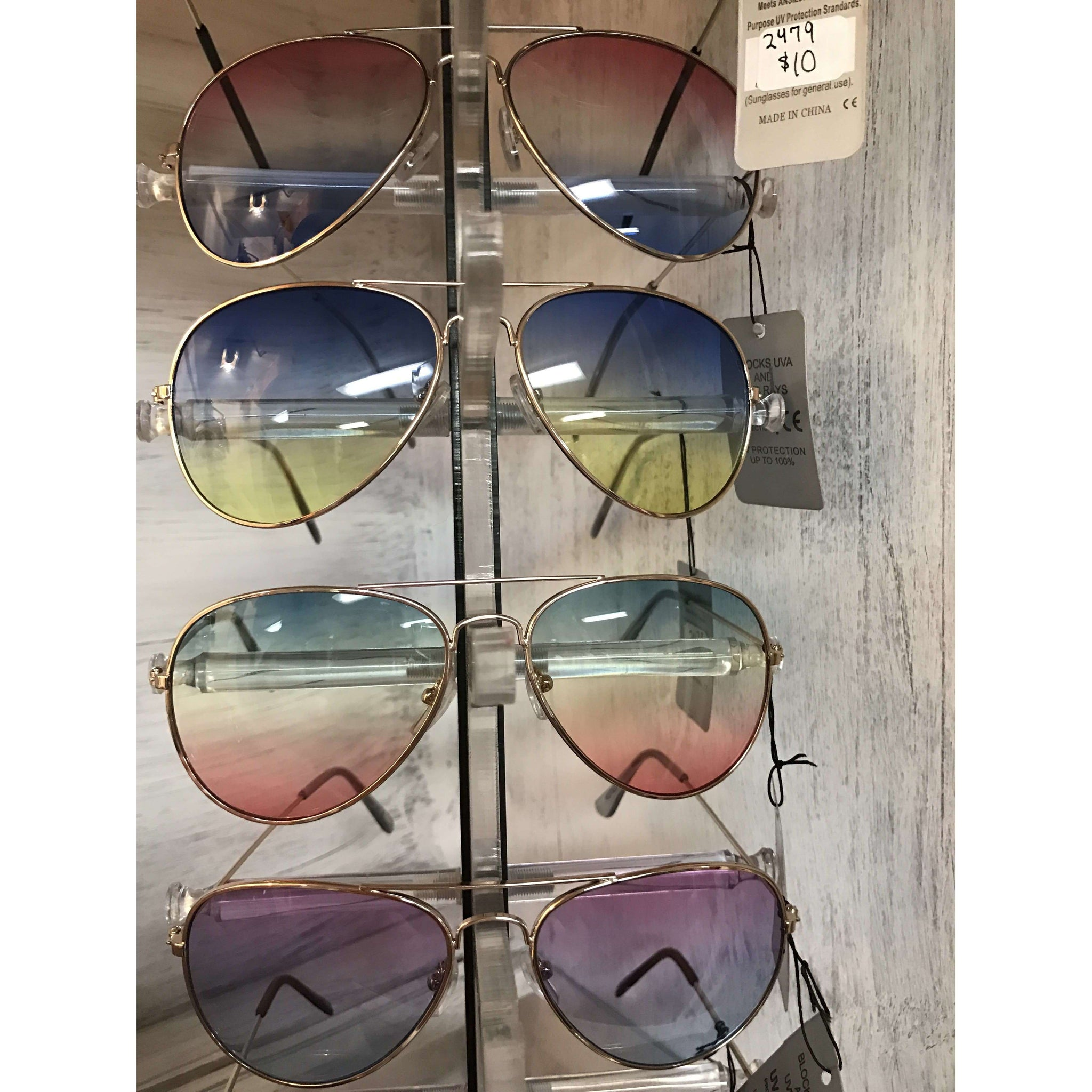 Tons of See-Thru Fun Sunnies