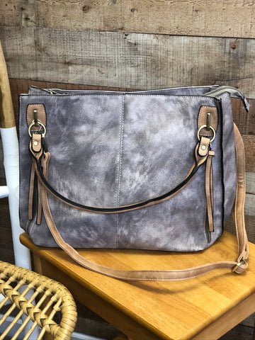 Lindy Distressed Carry-All Bag