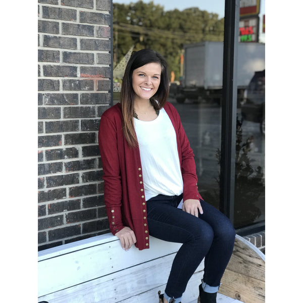 Adelyn Snap Cardigan