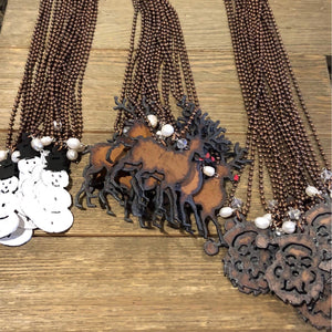 Metal Christmas Necklaces