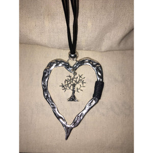 Tree of Life Inside My Heart Necklace