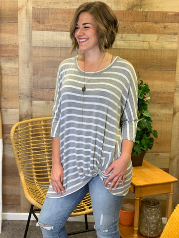 Cheryl Striped Lush Tunic