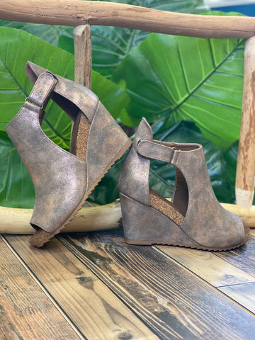 Sunburst Bronze Wedge