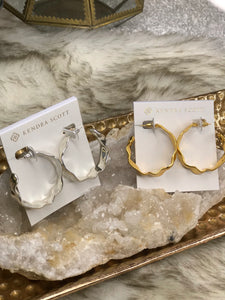 Kendra Scott Holland Hoop Earrings