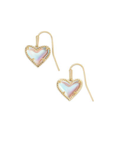 Kendra Scott Ari Heart Drop Earrings