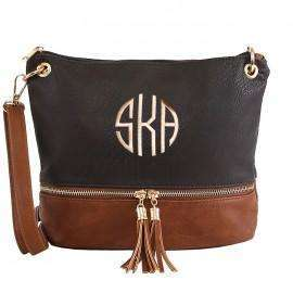 Cross Body Two Tone Bag