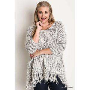 Raleigh Oversized Frayed Sweater