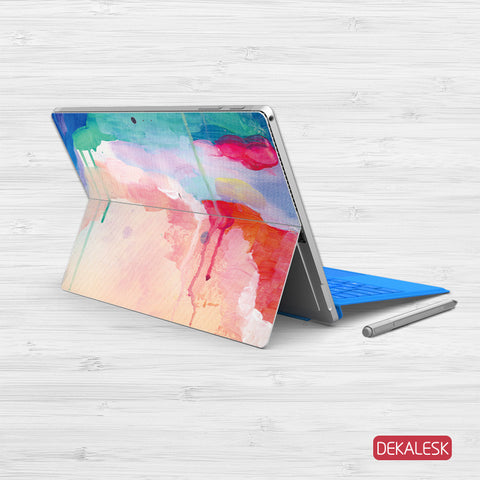Watercolor Stream - Surface Pro 3/4 Skin - DEKALESK