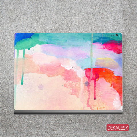 Watercolor Stream - Surface Book Skin - DEKALESK