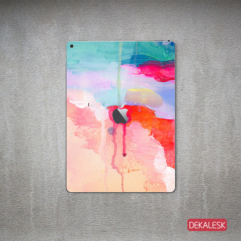 Watercolor Stream - iPad Pro Skin - DEKALESK
