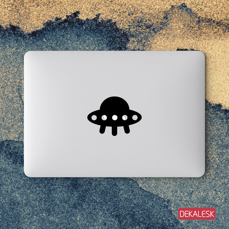 Small UFO - MacBook Decal - DEKALESK