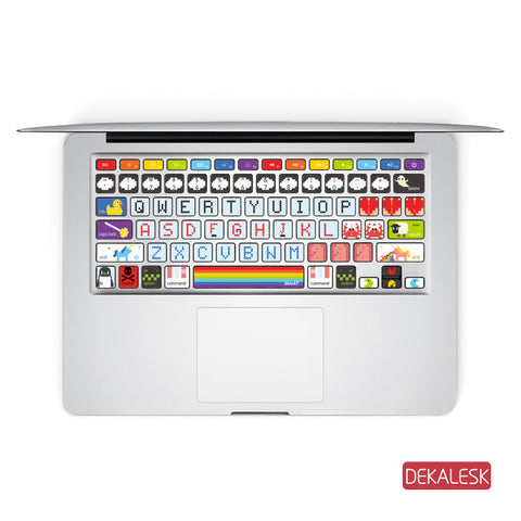 Rainbow - MacBook Keyboard Stickers - DEKALESK