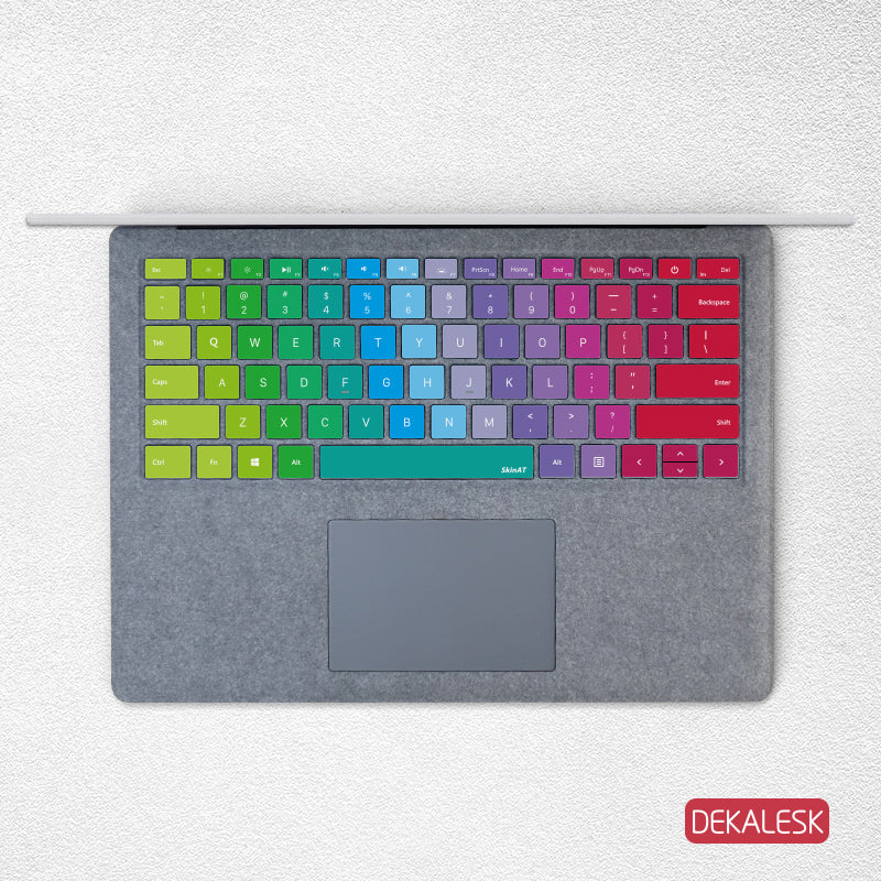Ice cream Swatch- Surface Laptop/surface Book/Surface Pro 7 Keyboard Keys Skin - DEKALESK